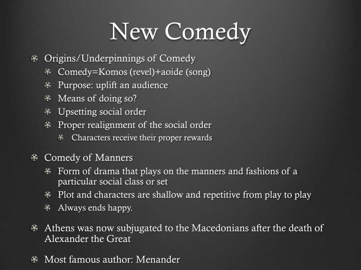 New Comedy