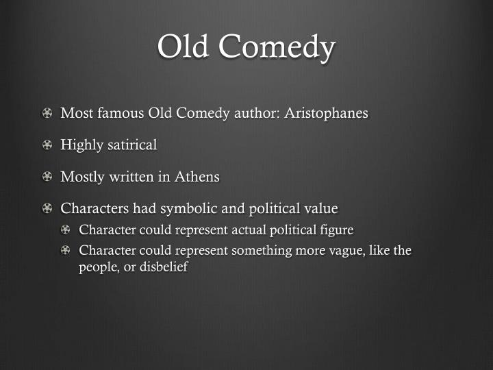 Old Comedy