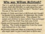 who was william mcintosh