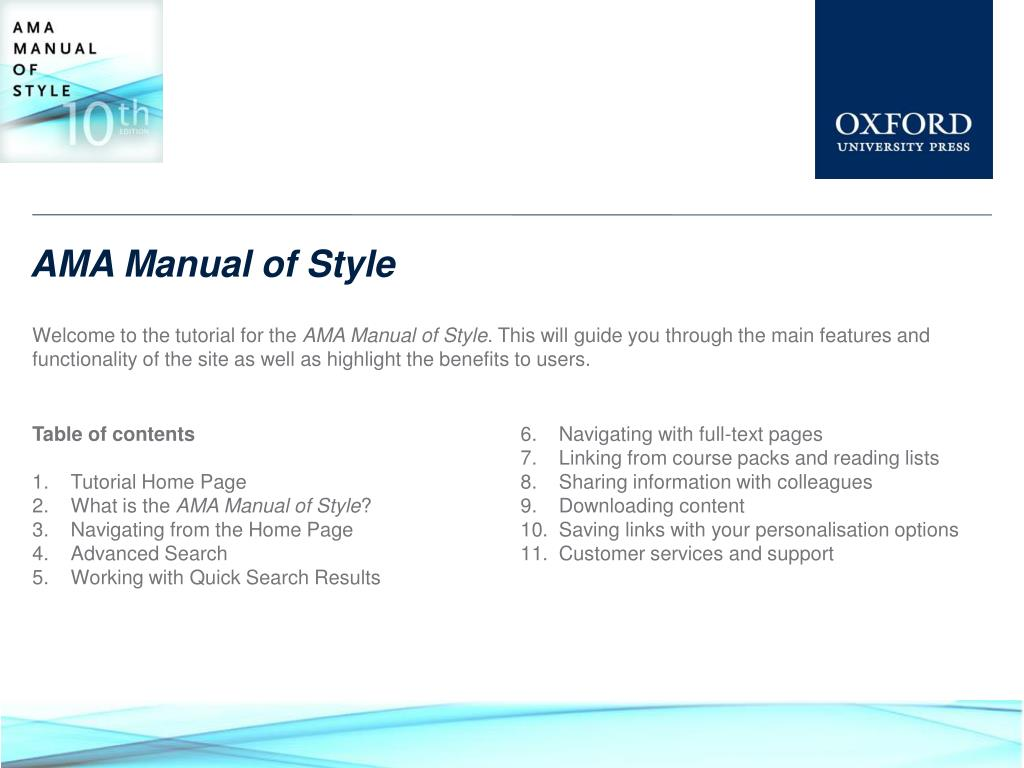 ama manual of style n.