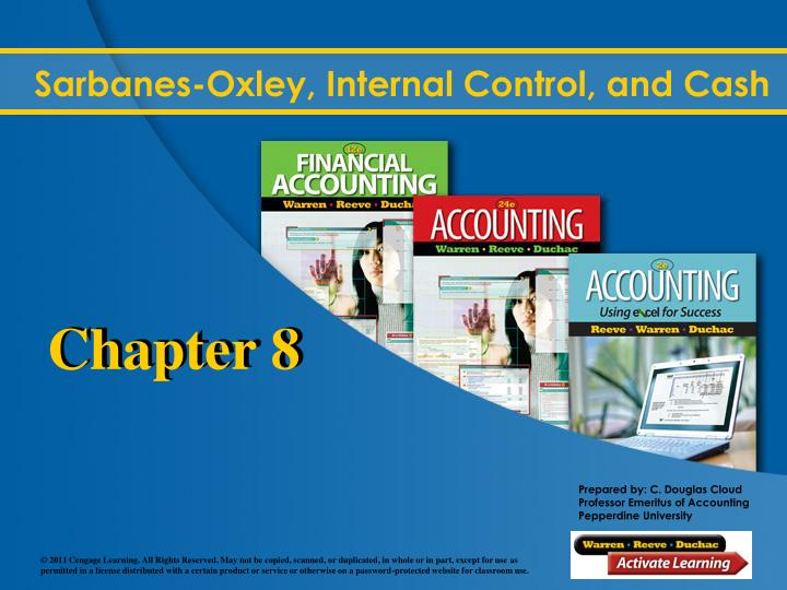 sarbanes oxley internal control and cash n.