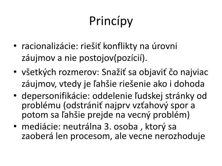Princípy