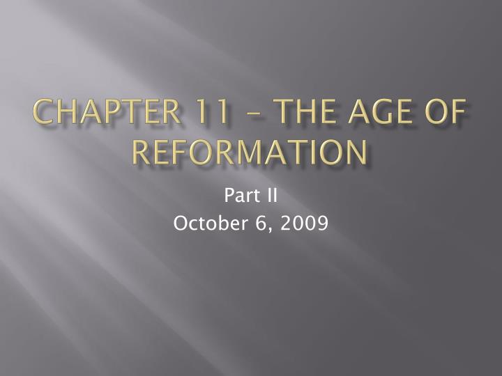 an overview of the age of reformation Discover the history and impact of the age of exploration, which lasted from the early 15th century to the end of the 17th century.