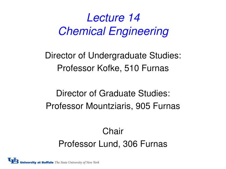 lecture 14 chemical engineering n.