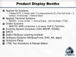 product display booths