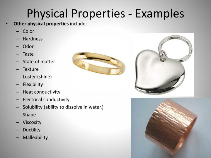 ppt - chemical and physical properties powerpoint presentation - id