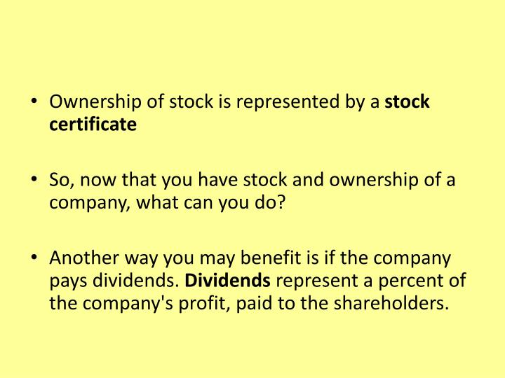 Ppt The Stock Market Powerpoint Presentation Id5436644