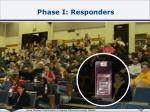phase i responders