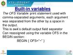 built in variables2