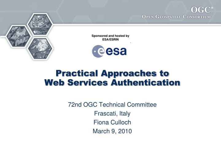 practical approaches to web services authentication n.