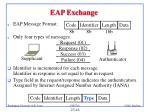 eap exchange