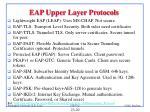 eap upper layer protocols