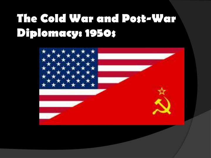 the many technologies brought about after the cold war and post cold war They were russian pieds-noirs not unlike the french algerian settlers who brought down the french as the first test of a new post-cold war.