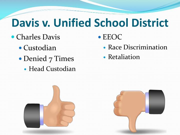 Davis v. Unified School District