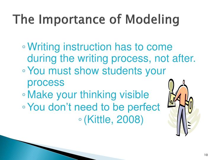 The Importance of Modeling