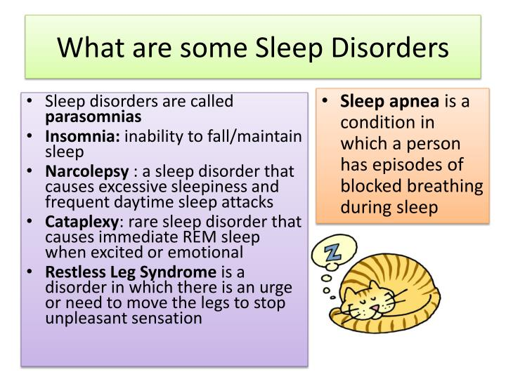 What are some Sleep Disorders