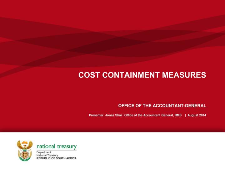 cost containment measures n.