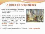 a lenda de arquimedes1