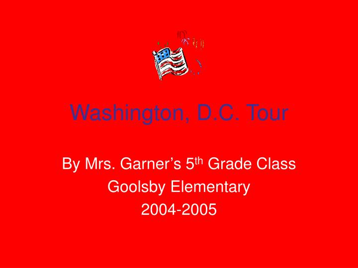 washington d c tour n.