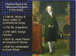 charles maurice de talleyrand p rigord 1754 1838