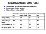 sexual standards 2002 gss
