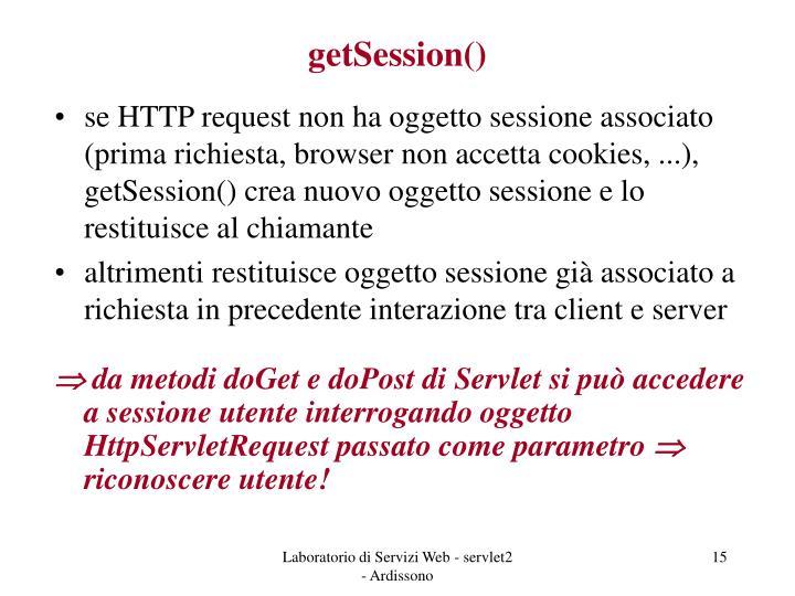 getSession()