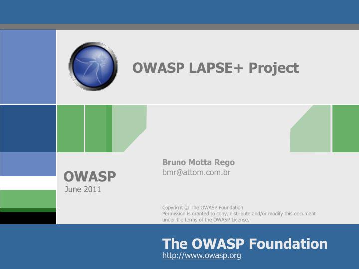 owasp lapse project n.