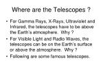 where are the telescopes