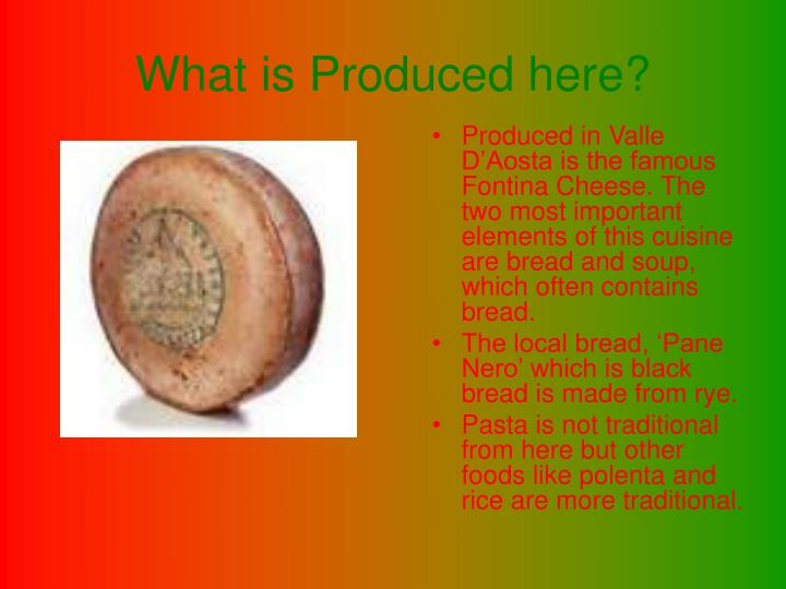 What is produced here