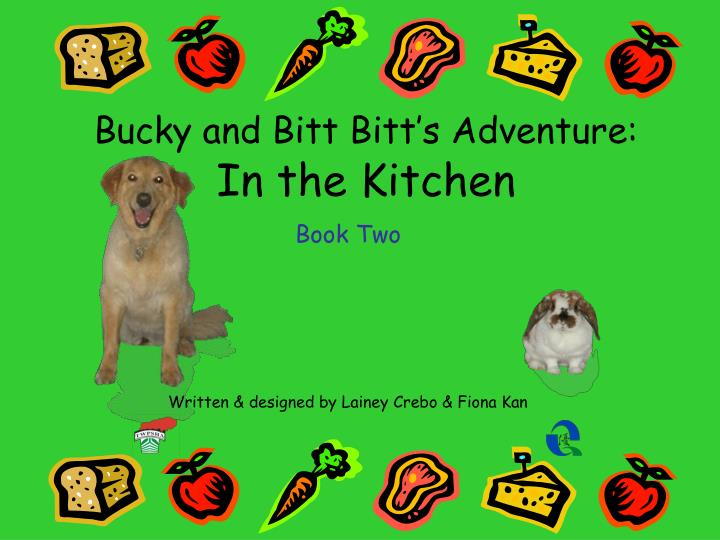 bucky and bitt bitt s adventure in the kitchen n.
