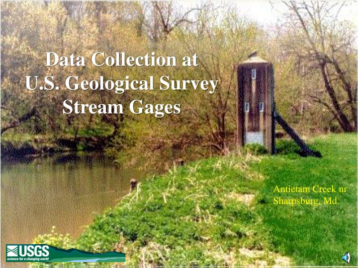 data collection at u s geological survey stream gages n.
