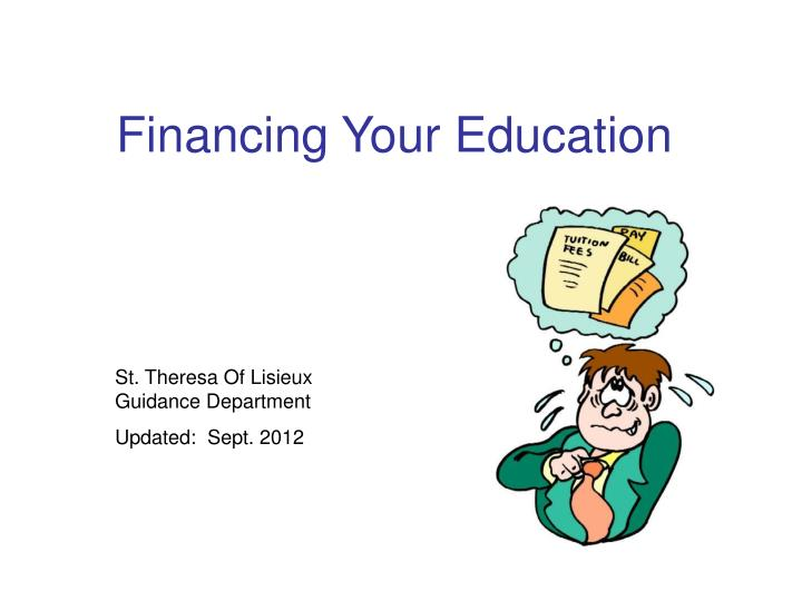financing your education n.