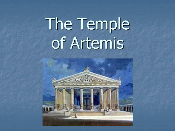 the temple of artemis n.