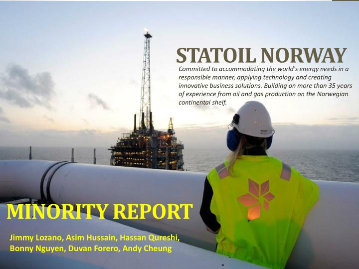 statoil norway n.