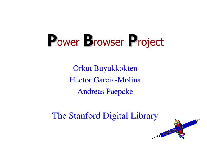 p ower b rowser p roject n.