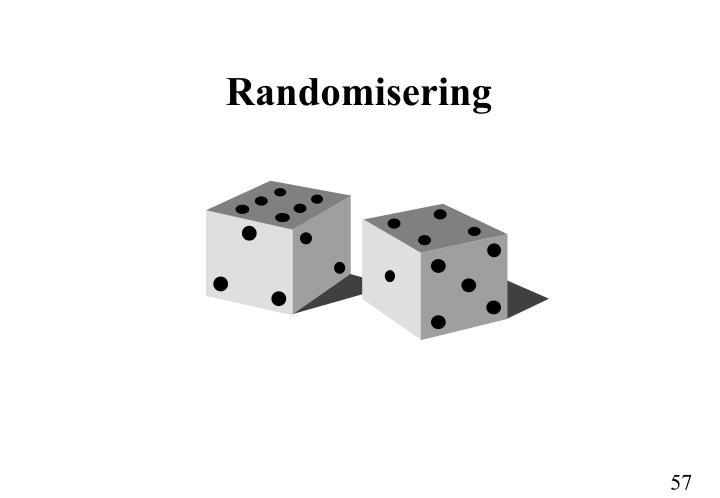 Randomisering