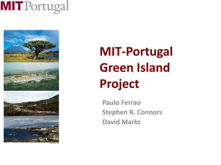mit portugal green island project n.