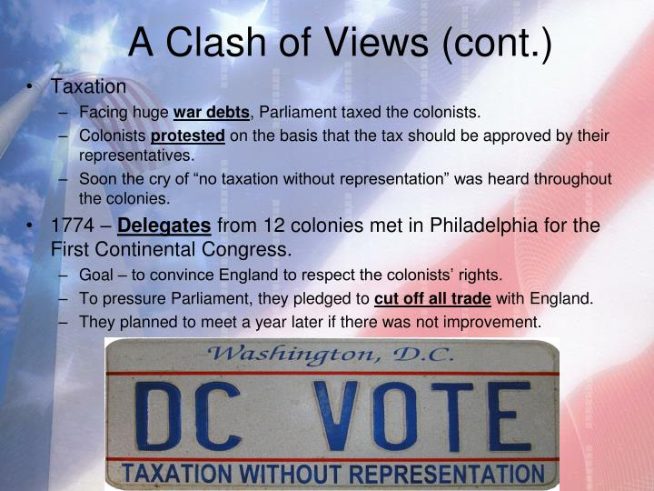 A Clash of Views (cont.)