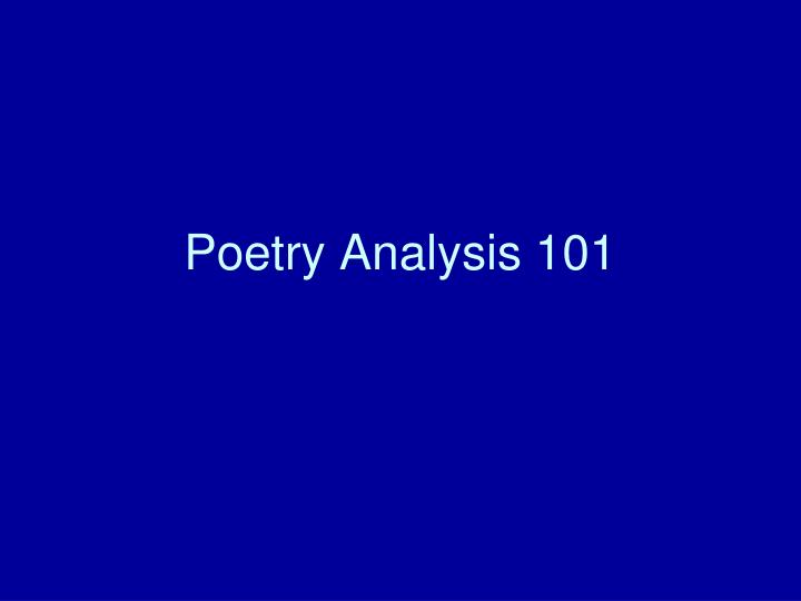 poetry analysis Poetry analysis- echoes of goodbye echoes of goodbye by patricia a queen is a skilfully crafted poem that describes the hardships of someone who lost their father at a young age and is recollecting.
