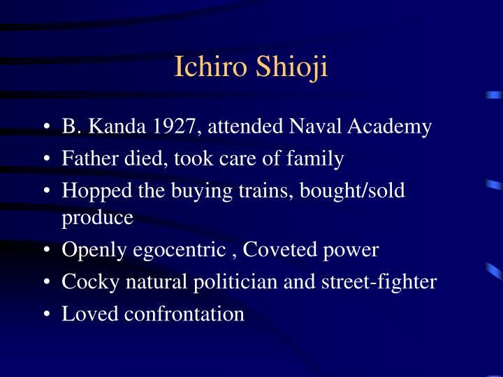 Ichiro Shioji