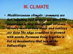 iii climate