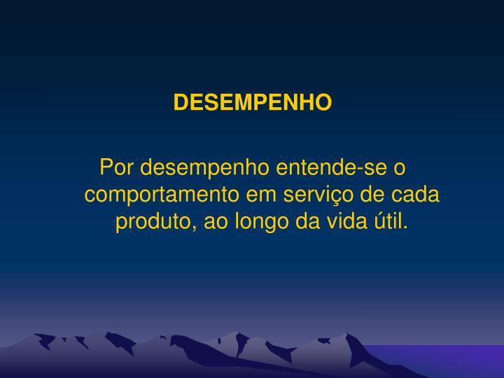 DESEMPENHO