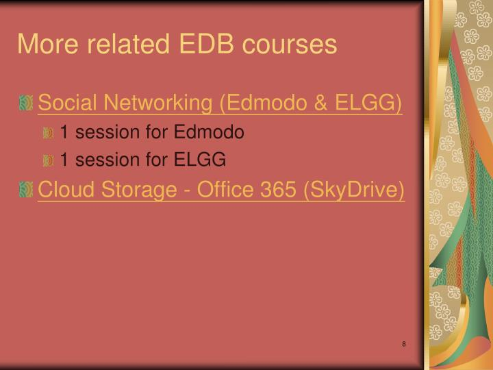 More related EDB courses