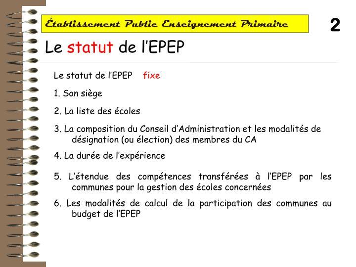 Tablissement public enseignement primaire1