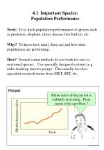 4 1 important species population performance