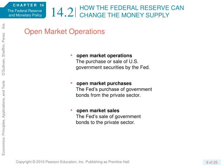 HOW THE FEDERAL RESERVE CAN