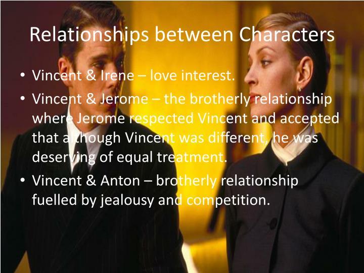 Relationships between Characters