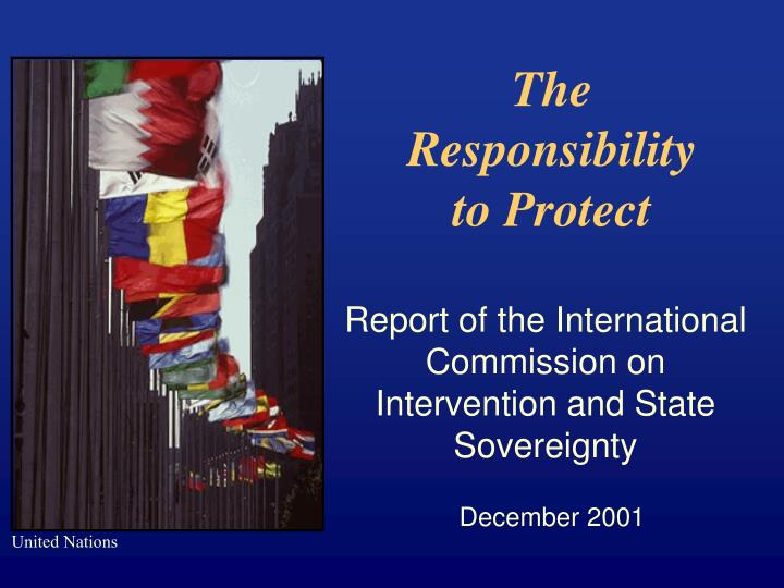 the responsibility to protect n.