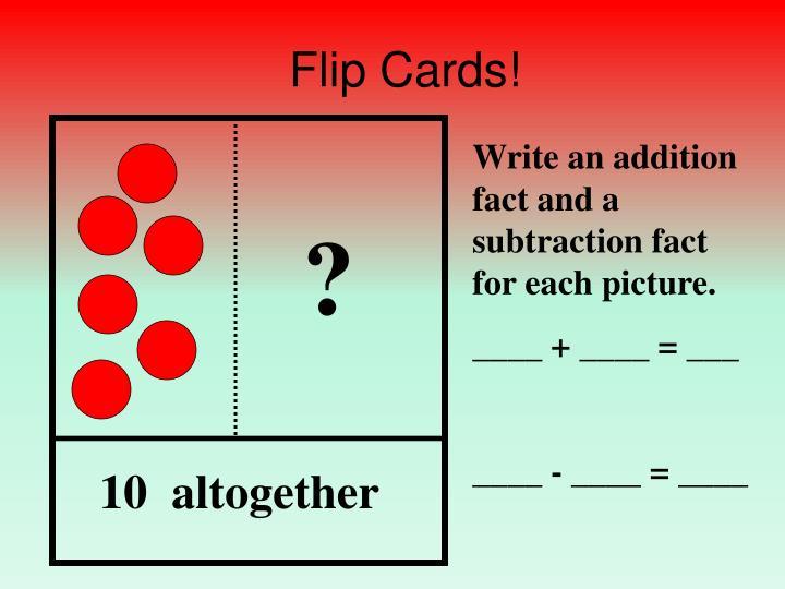 Flip Cards!