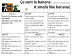 a sent la banane j farreyrol reviewed version it smells like banana